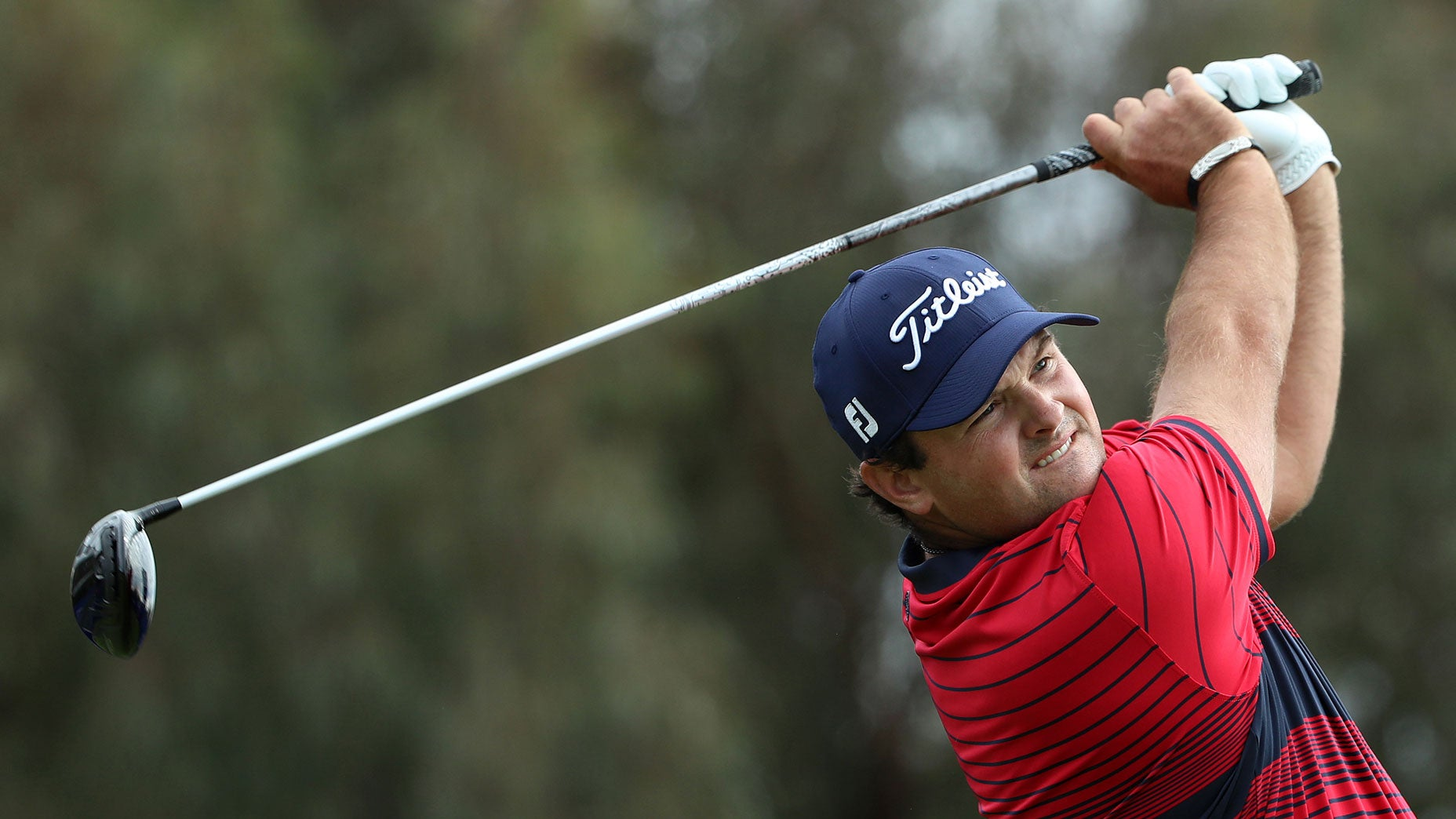 What happened after Patrick Reed left Torrey Pines on Saturday