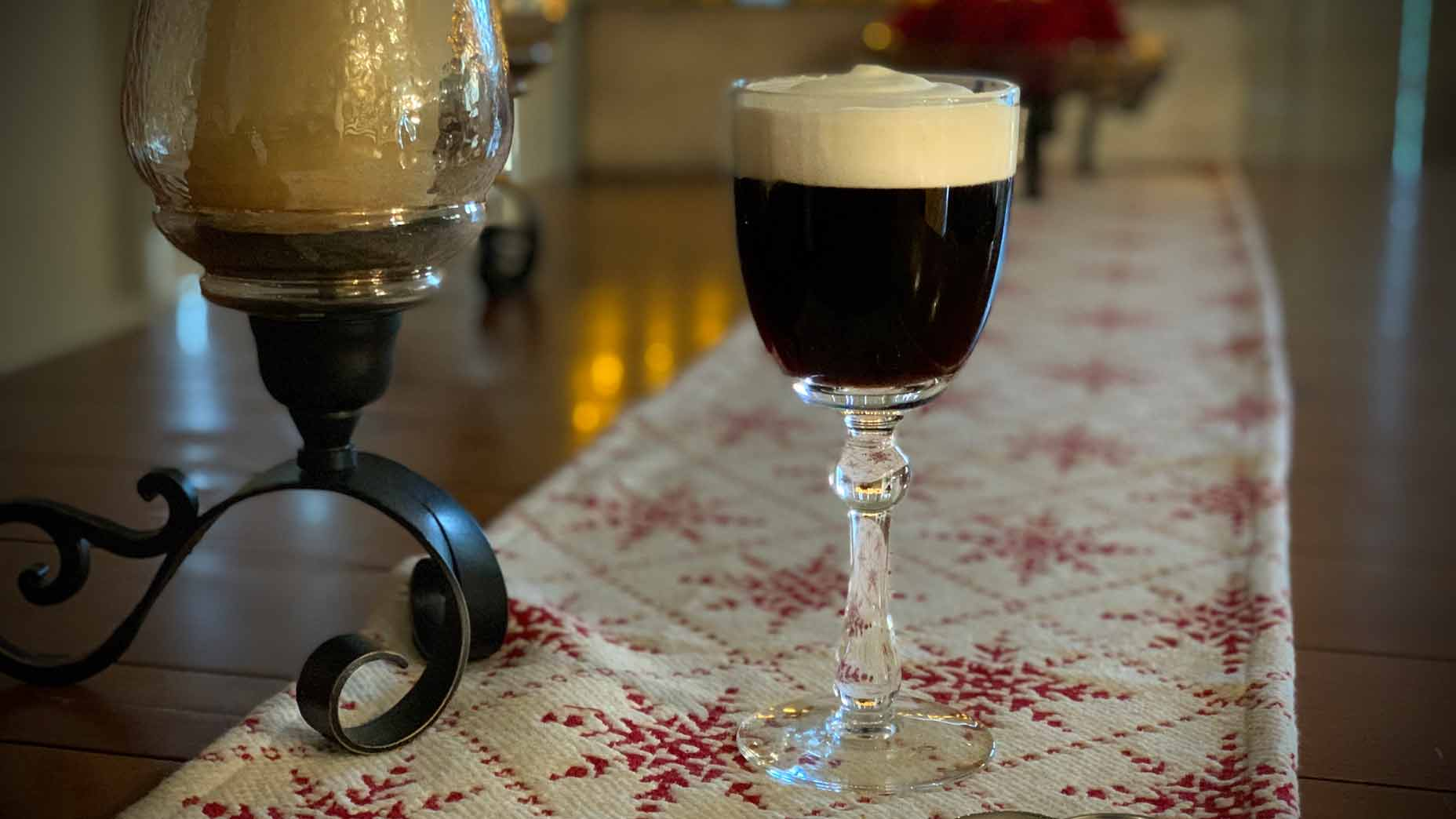 How to make the perfect Irish coffee, according to a golf club chef