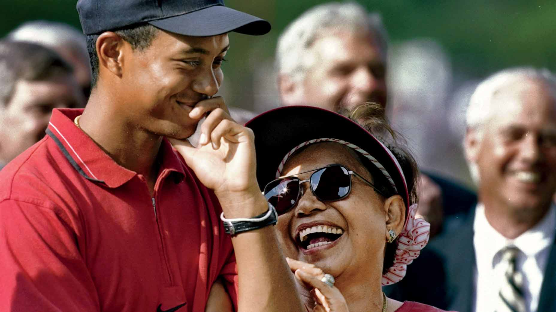 Tida and Tiger Woods