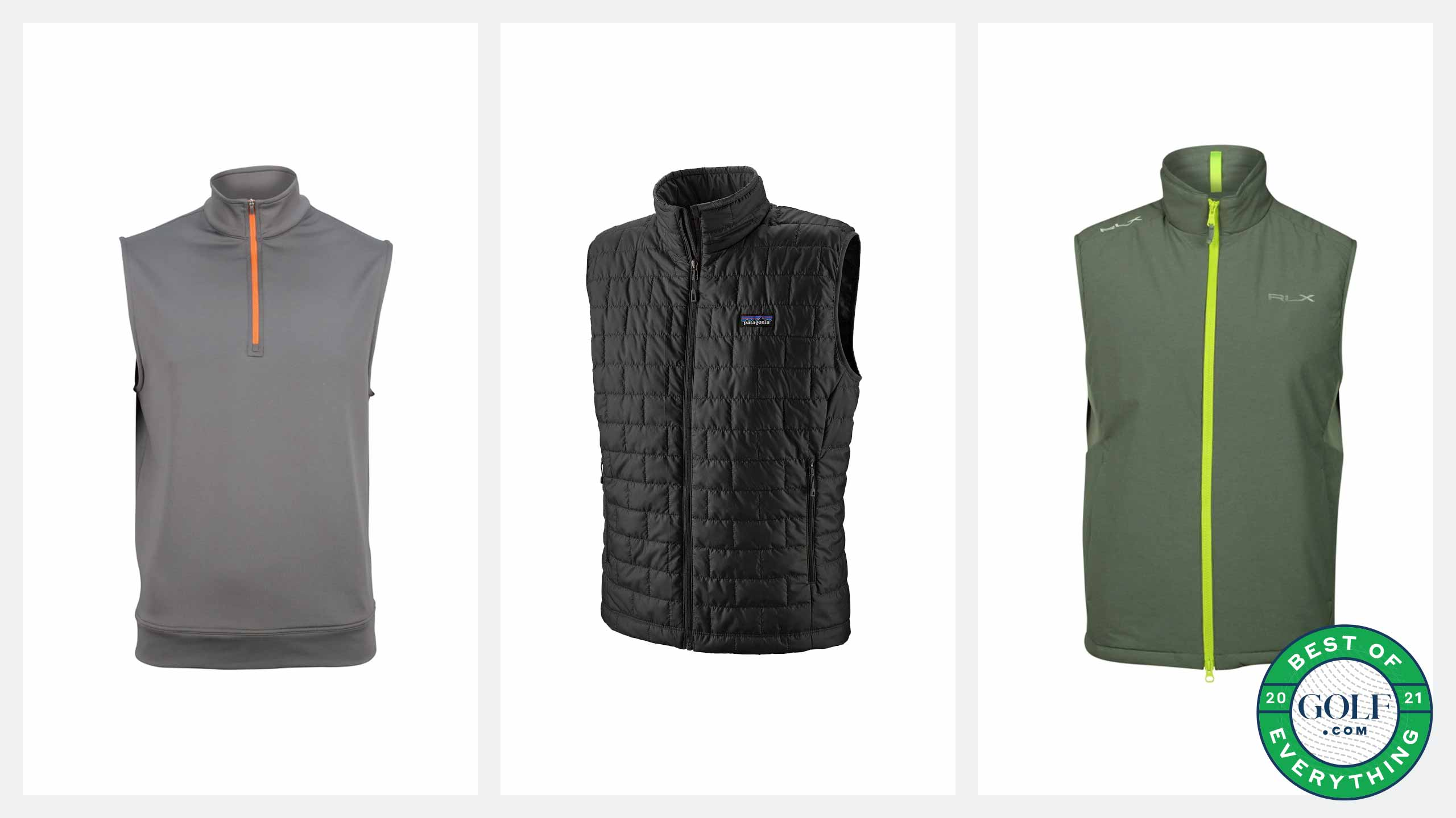 best golf vests