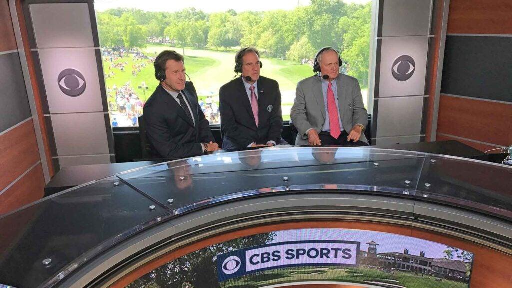 cbs sports television studio