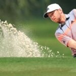 daniel berger hits bunker shot