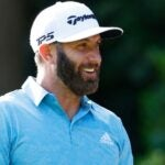 dustin johnson smiles
