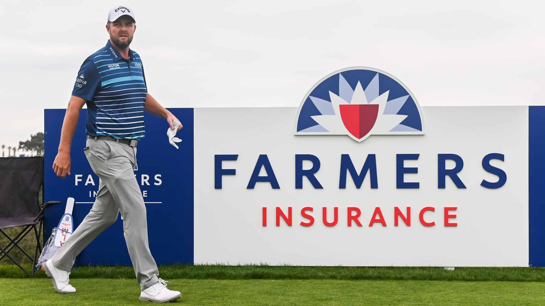 Marc Leishman at Farmers Insurance Open