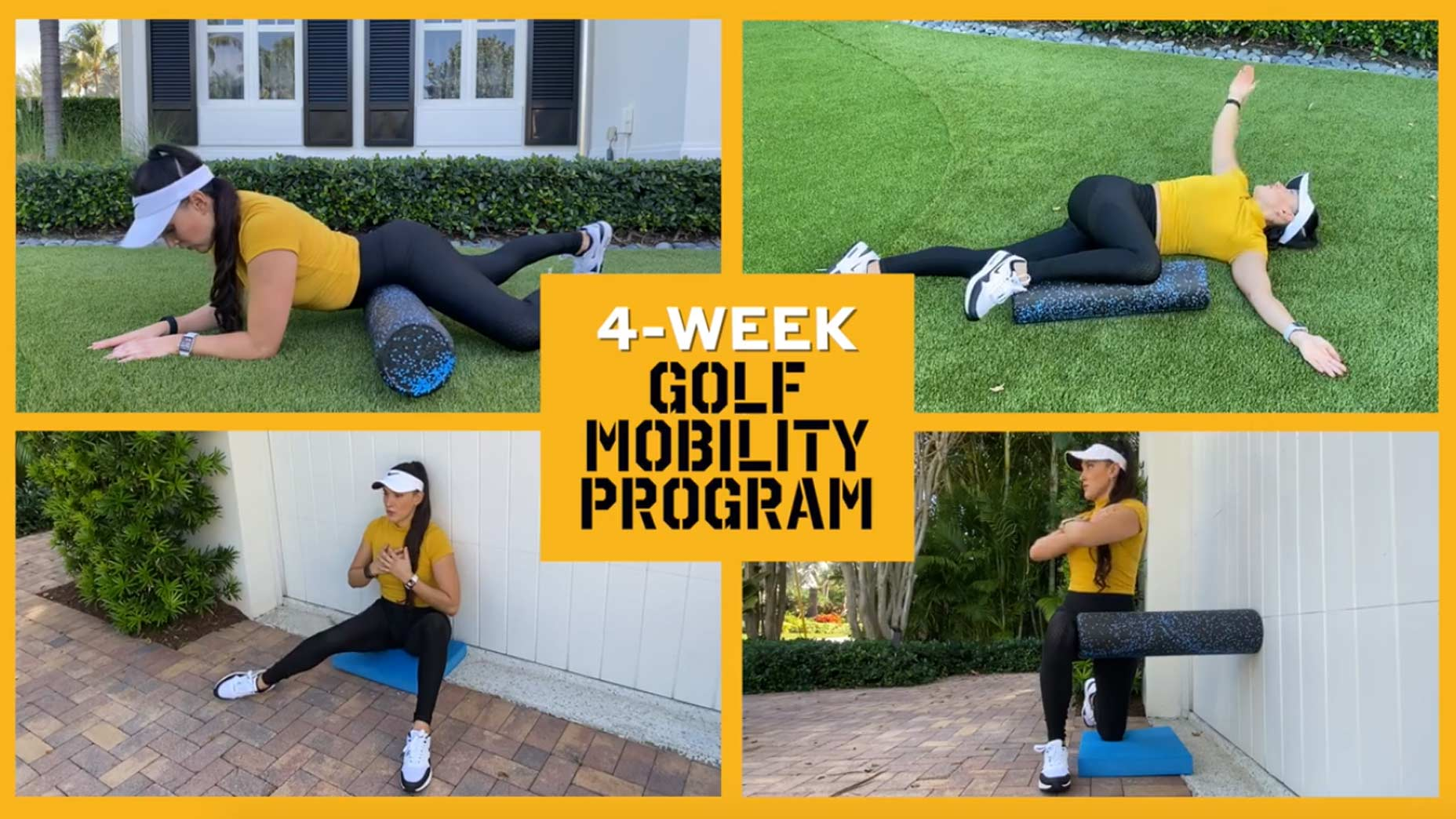 Home Fitness: This mobility program is for every golfer who sits at a desk all day