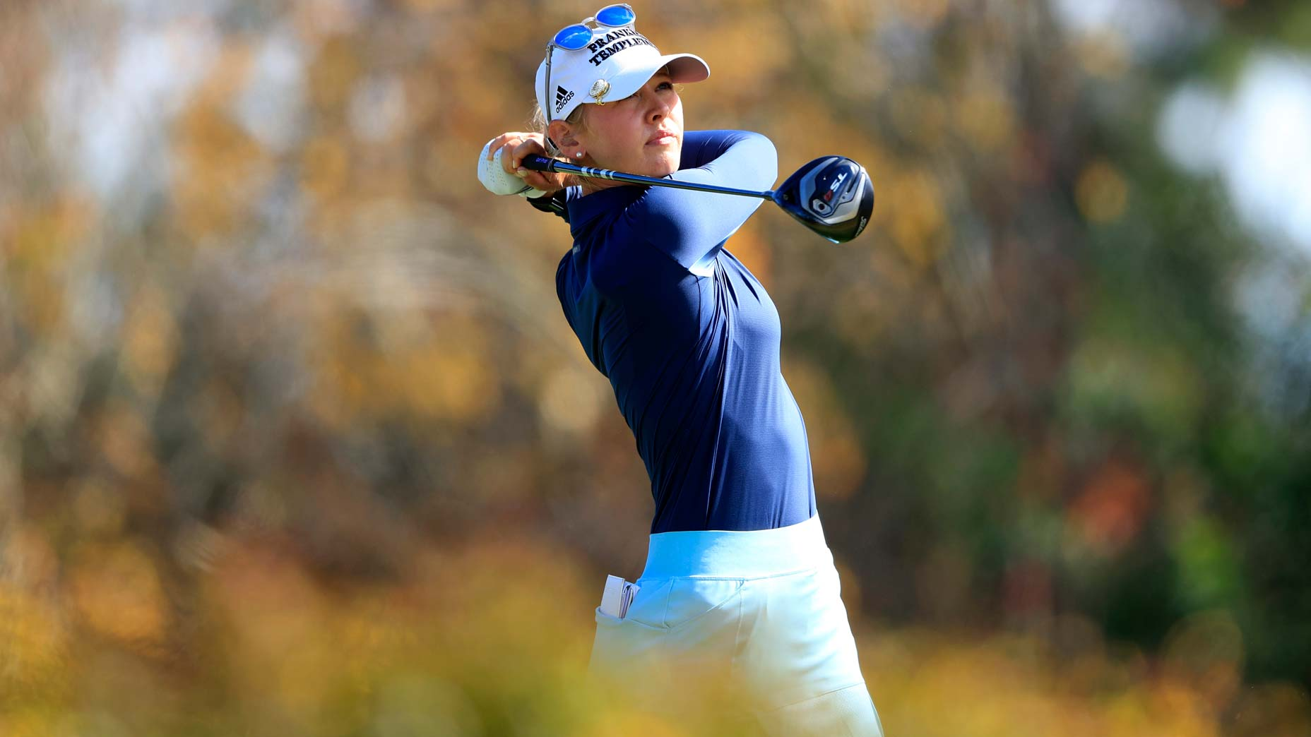 Say goodbye to your slice for good with this drill from an LPGA Tour star