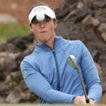 Golfer Linn Grant