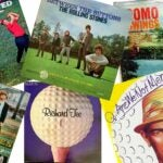 golf-themed album covers