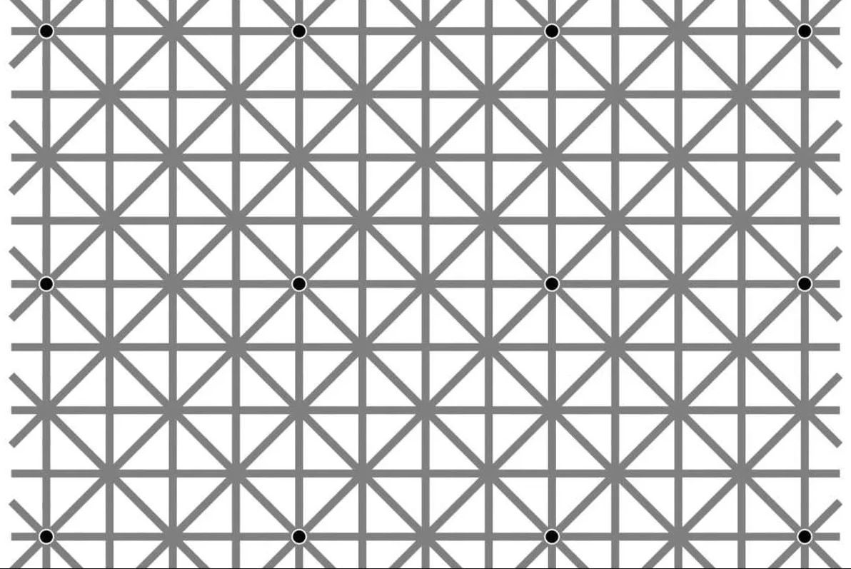 12dot optical illusion