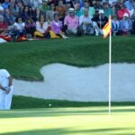 sergio garcia hits chip shot