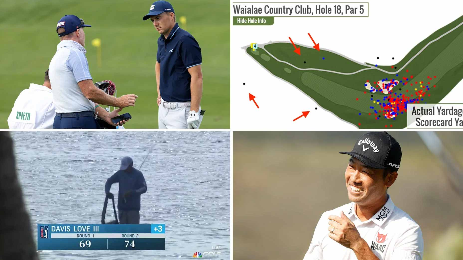 Monday Finish: Jordan Spieth rumors, 60-yard drives and Kevin Na's legacy