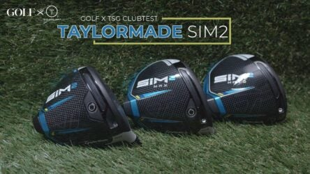In our recent head-to-head ClubTest, True Spec Golf's DJ Lantz and GOLF.com's Andrew Tursky hit TaylorMade's new SIM2 and SIM2 Max models vs. last year's extremely successful SIM and SIM Max