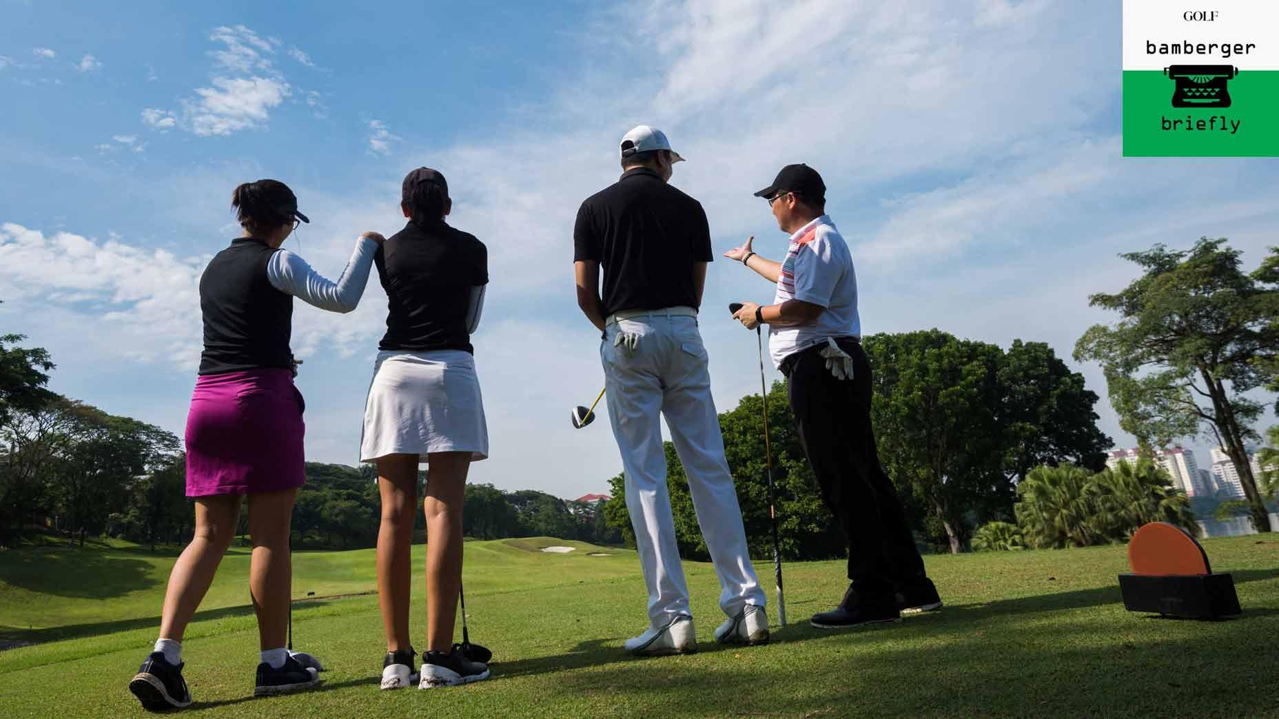 team golf
