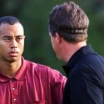 Tiger Woods and phil mickelson at 2001 masters