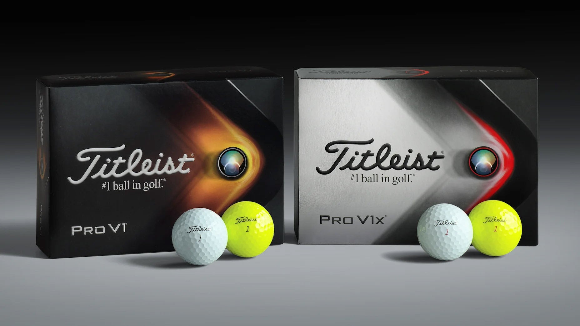 Titleist Pro V1, Pro V1x golf balls for 2021