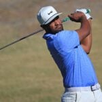 Tony Finau at 2021 American Express