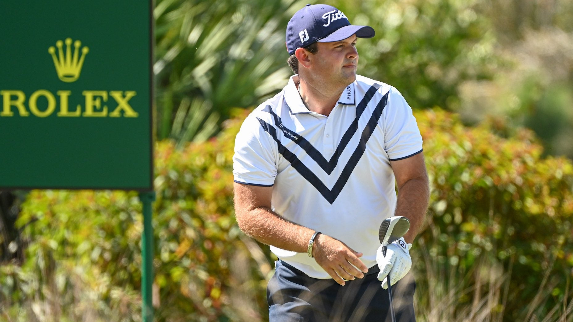 How does Patrick Reed stay so focused?