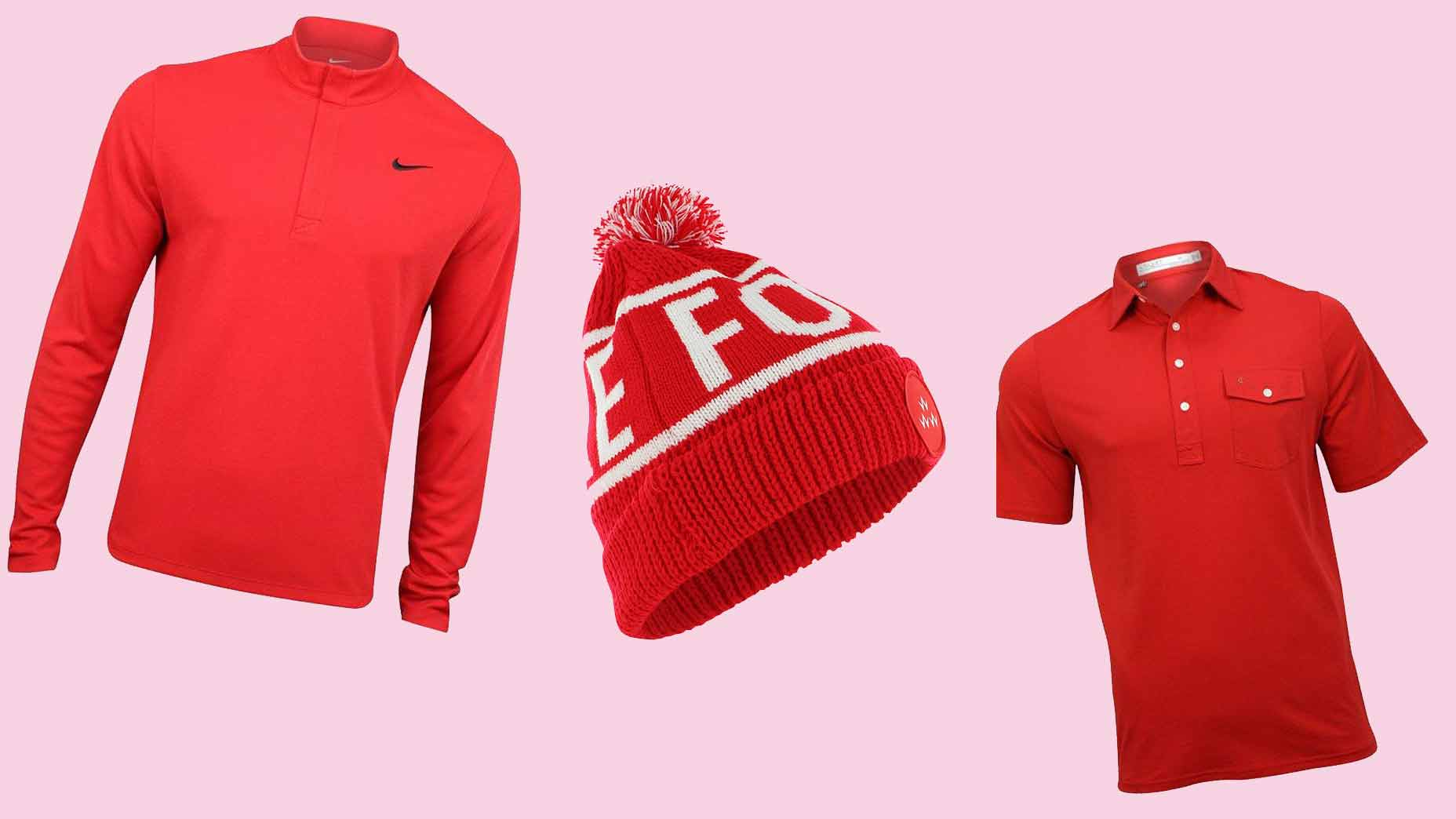 Red pro shop