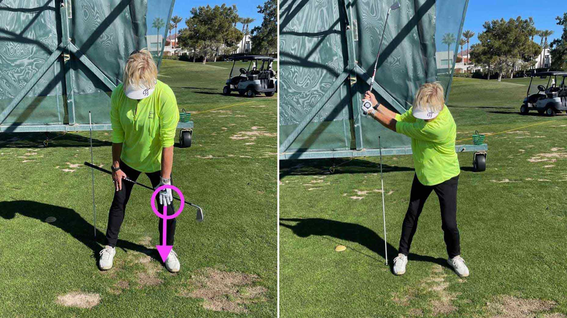 Are you making the most of your backswing pivot? Here's an easy way to check