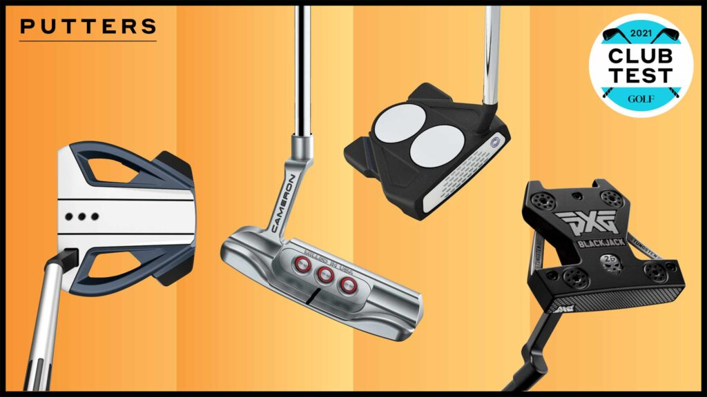 The best putters in ClubTest 2021.