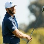 Dustin Johnson at 2021 Genesis Invitational