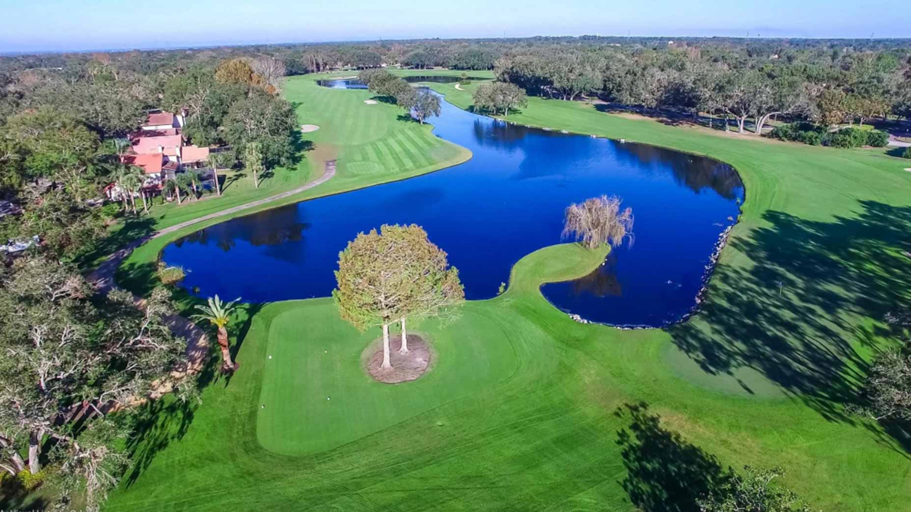 Orange Tree golf in Florida.