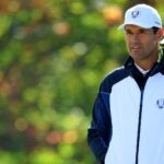 padraig harrington stands