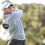 rory mcilroy tees off