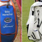 blank golf bag