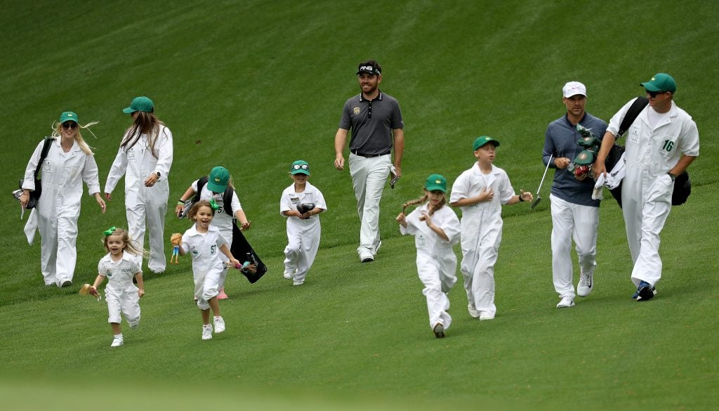 Those iconic Masters caddie uniforms? Here's how to buy one