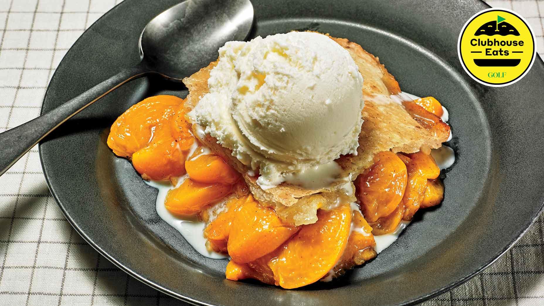 The secret to making Augusta National-grade peach cobbler