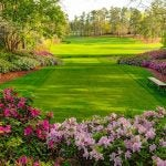 The 13th hole at the Masters.