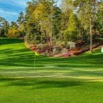 The 6th at Augusta National.