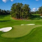 The 2nd hole at Augusta National.