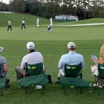 Fans at Augusta National.