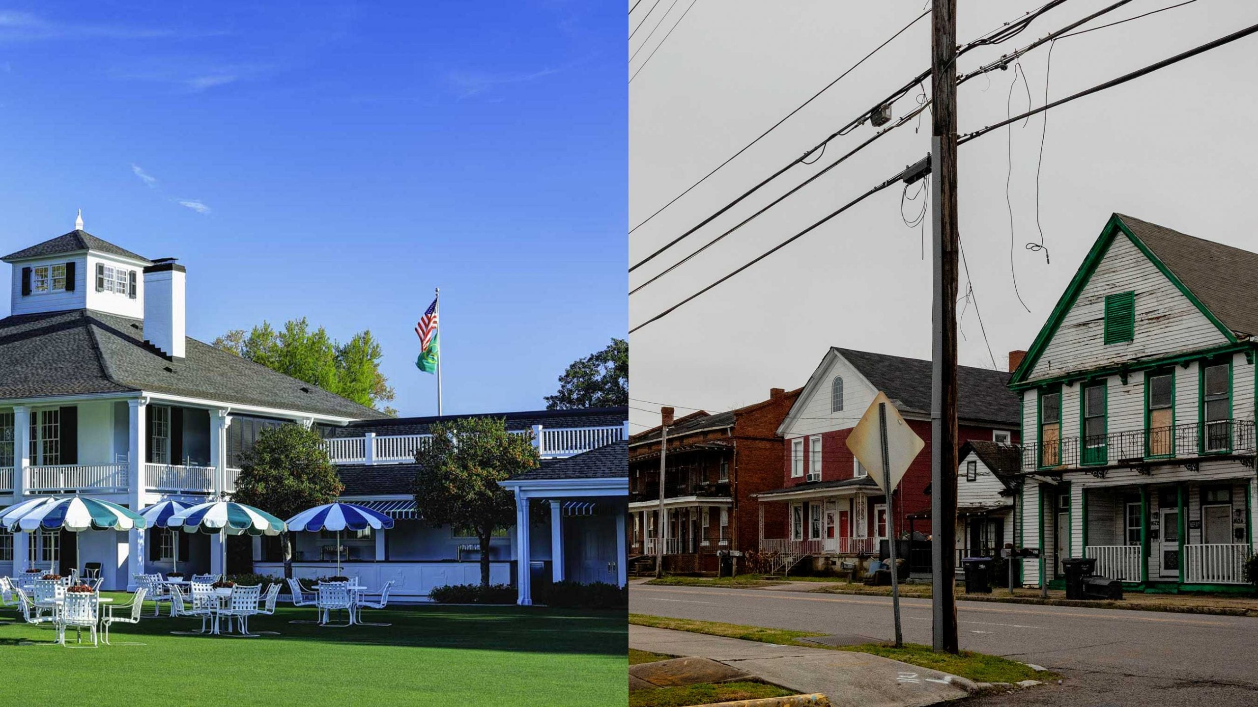 augusta clubhouse and augusta neighborhood