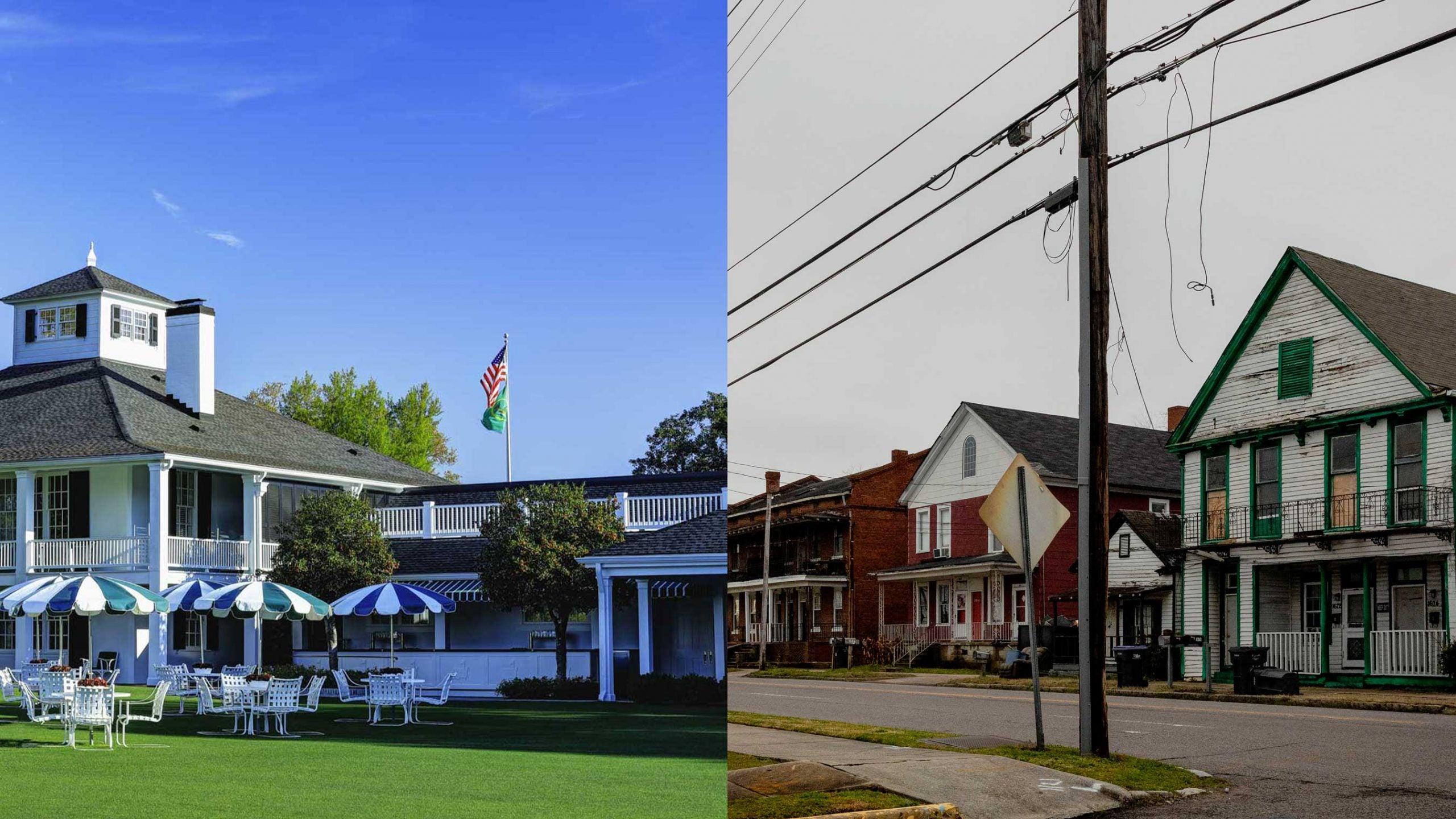 augusta clubhouse and augusta neighborhood
