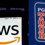 pga tour aws logos