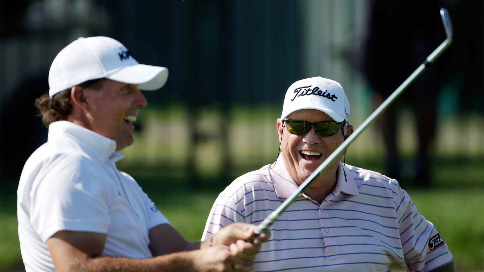 Butch Harmon and Phil Mickelson.