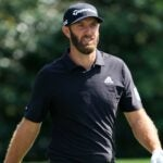 dustin johnson walks