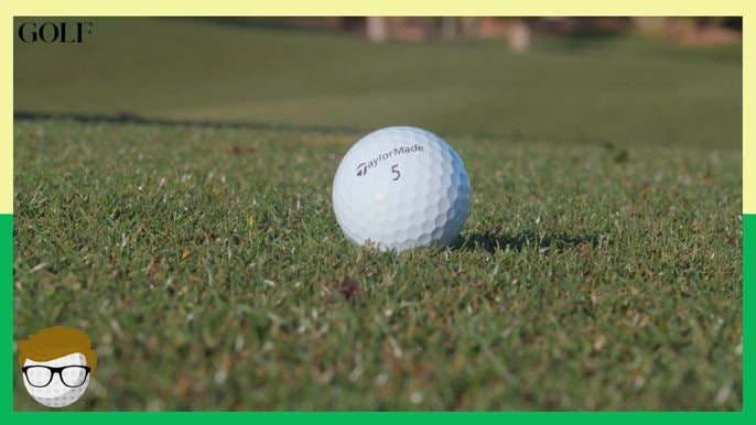This is what happens when you hit out of a divot (and other bad lies)