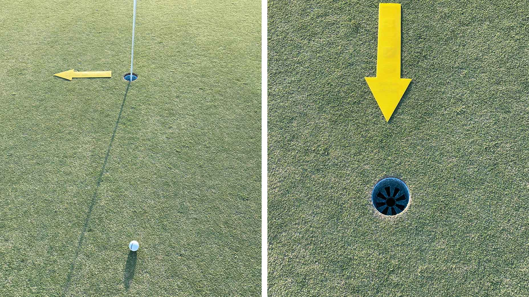 How to read the grain on Bermuda-grass greens