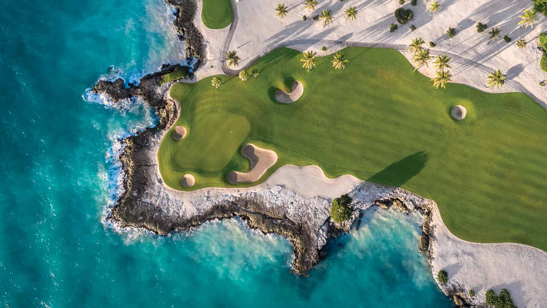 The 12th hole at the Jack Nicklaus–designed Punta Espada proves there's magic in the air these days in all things golf.