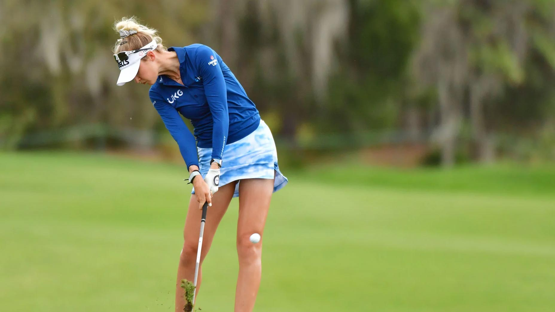 Nelly Korda's stylish Saturday skirt: Spotted on the LPGA Tour