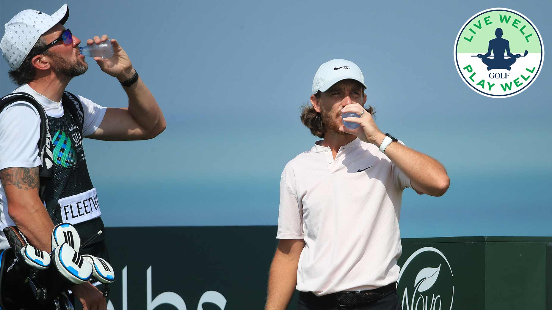 Soda isn't the best thing you could drink on the course.