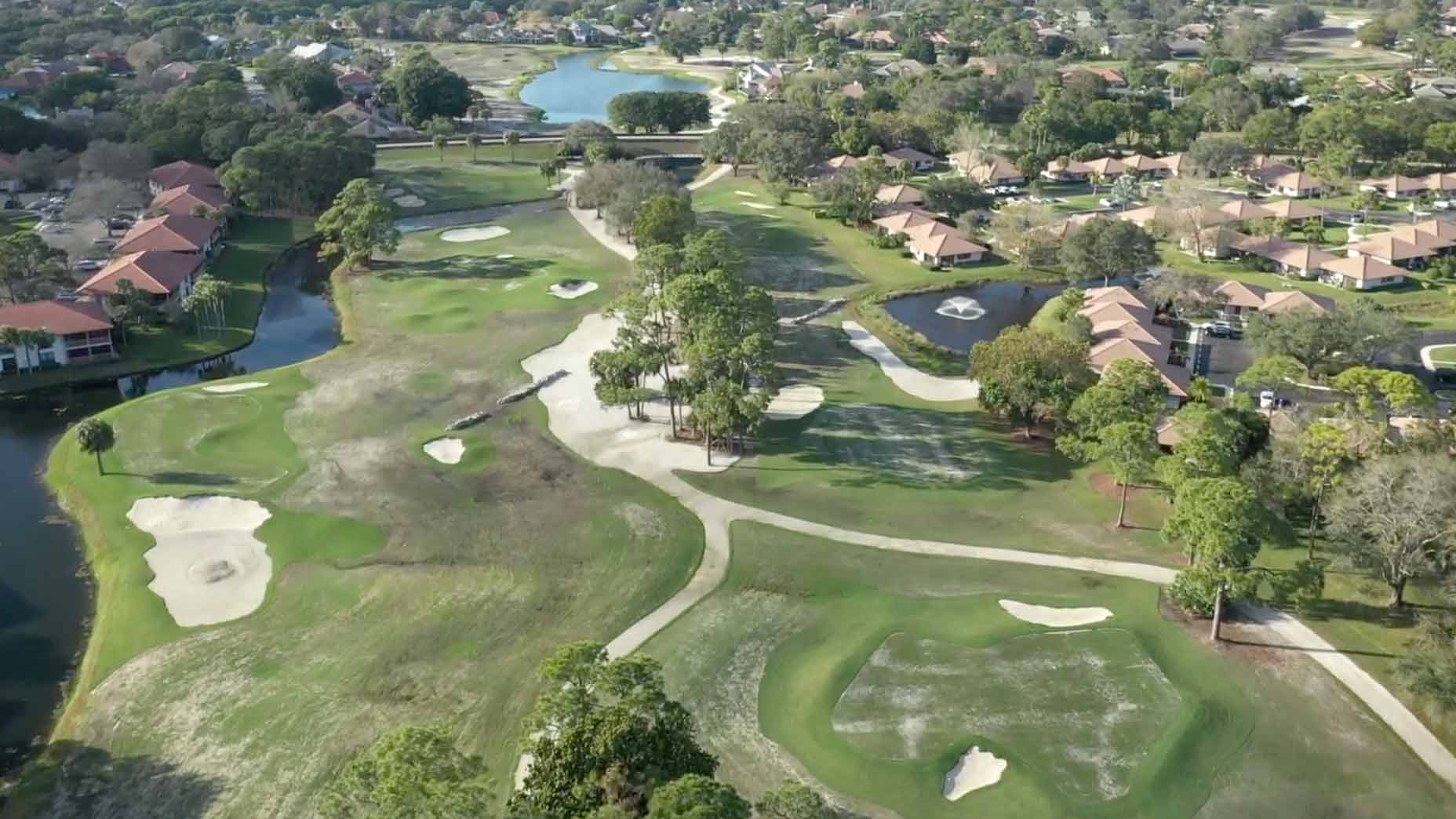 The new par-3 course at PGA National.