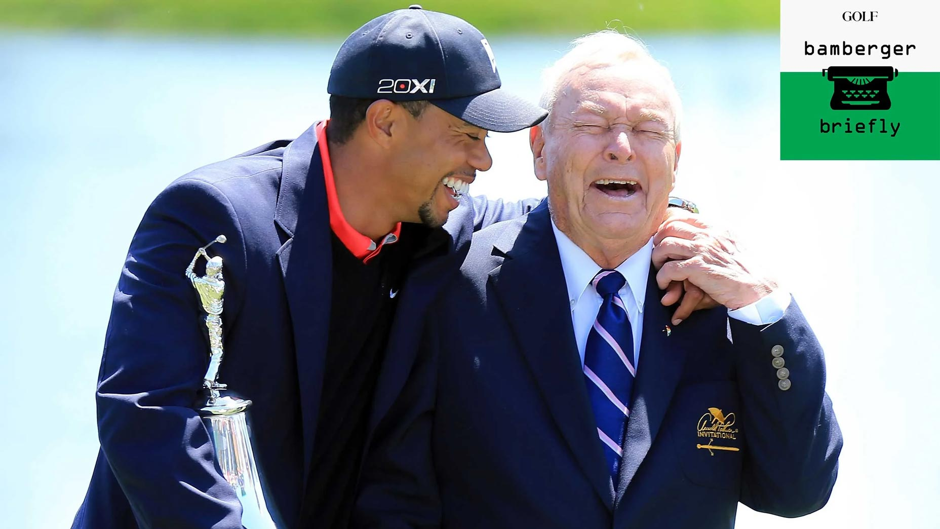 arnold palmer and tiger woods at bay hill