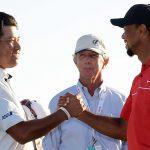 Hideki Matsuyama Tiger Woods