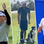 monday finish tiger woods brooke henderson Marc Leishman