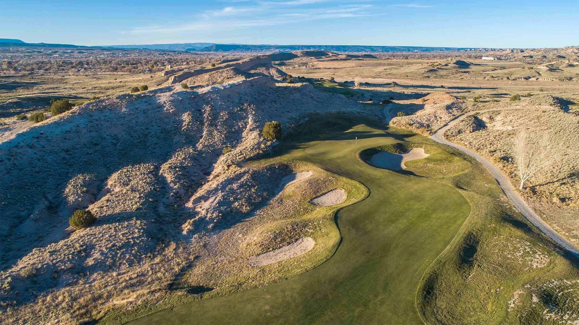Black Mesa golf course in New Mexico